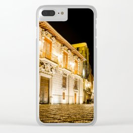 Nocturnal brights Clear iPhone Case