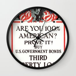 Are you 100% American Wall Clock