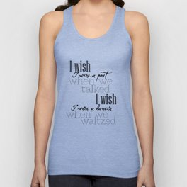 Simple Words Unisex Tank Top