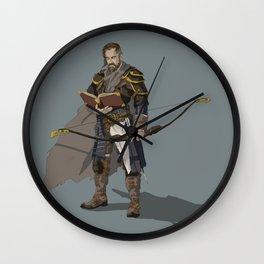 Croaker of the Black Company Wall Clock