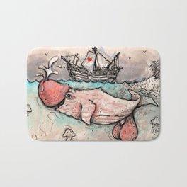 Le Baleineau Bath Mat