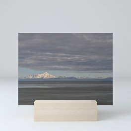 Stormy Clouds over the Cook Inlet Mini Art Print
