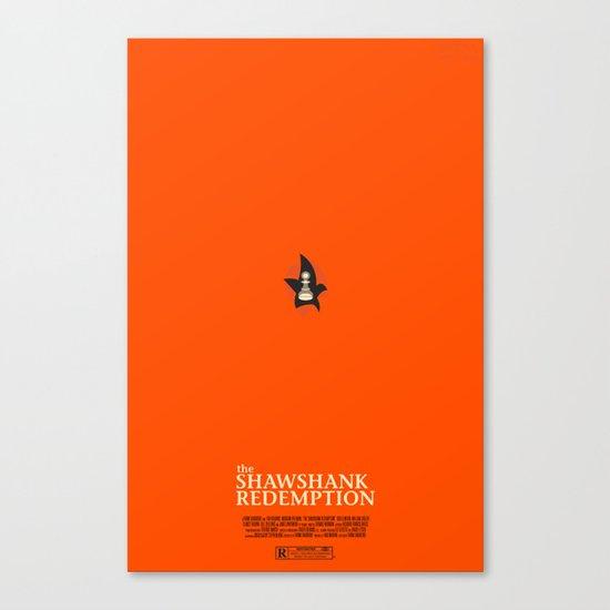 the shawshank redemption. Canvas Print
