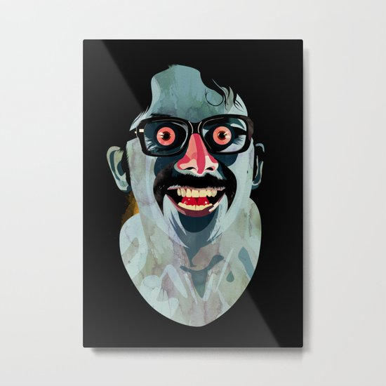 Portrait of Alonso Quijada Metal Print