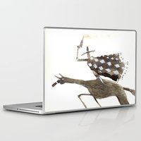 cowboy Laptop & iPad Skins featuring Cowboy by Peerro