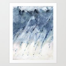 plausible weather explorations 2 Art Print
