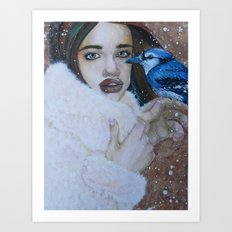 death's cold grasp Art Print