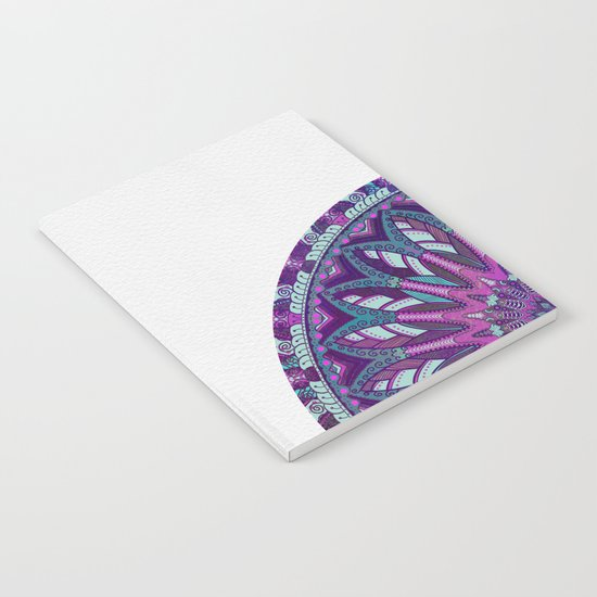 Iris Mandala 2 Notebook