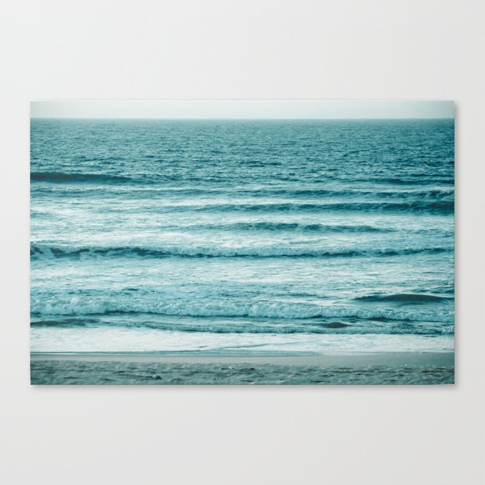Ocean Ripples Canvas Print