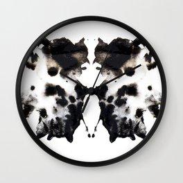 Rorschach No.1 Wall Clock