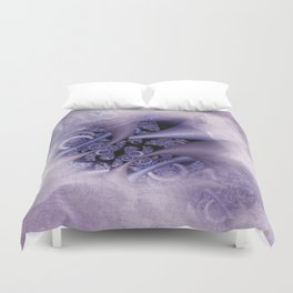 discrete colors - textured Duvet Cover