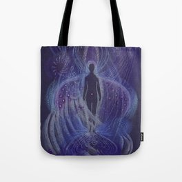 Dream Night Angel Tote Bag