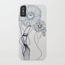 Flower Hair iPhone Case