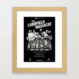 The Cornfield Massacre Framed Art Print