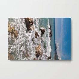 Power of Sea - Sicily Metal Print