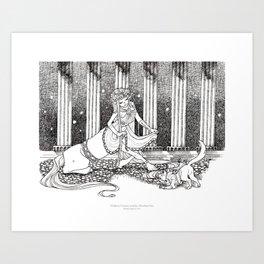 Madame Centaur Art Print
