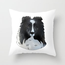 Cody the Sheltie Throw Pillow