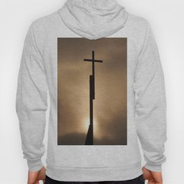 The cross in the #sky Hoody