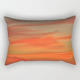 Hot-Headed Rectangular Pillow