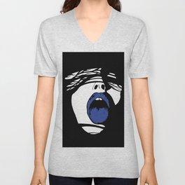 Blue Tongue Unisex V-Neck