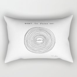 What to focus on Rectangular Pillow