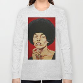 "Angela Davis ""Revolutionary"" Long Sleeve T-shirt"
