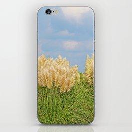 Pampas Grass iPhone Skin