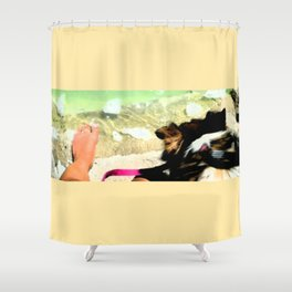 Fred at Stransky Shower Curtain