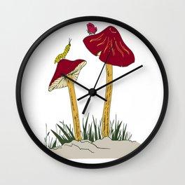 beautifull art drawing Wall Clock