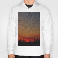 desert Hoodies featuring Desert by RingWaveArt