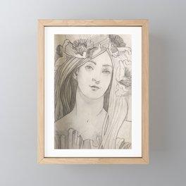 Shady lady 2 Framed Mini Art Print