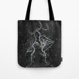 Stars kissing. Tote Bag