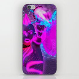 Neon Paradise 001 iPhone Skin