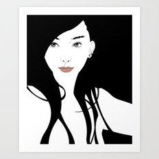 Pierce Art Print