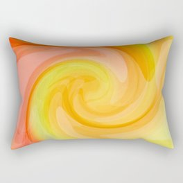 Birth of a Fresh New Day Rectangular Pillow