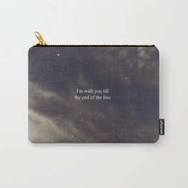 Till the End of the Line Carry-All Pouch