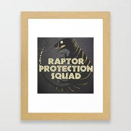 RPS (Raptor Protection Squad) - ECHO Framed Art Print