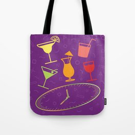 Happy Hour Cocktail Tote Bag
