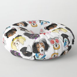 Pop Dogs Floor Pillow