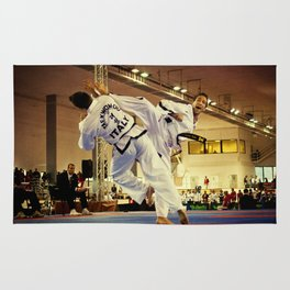 Traditional sparring - Taekwon-do ITF Rug