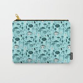 Mad Tea Party III - Mushrooms Carry-All Pouch