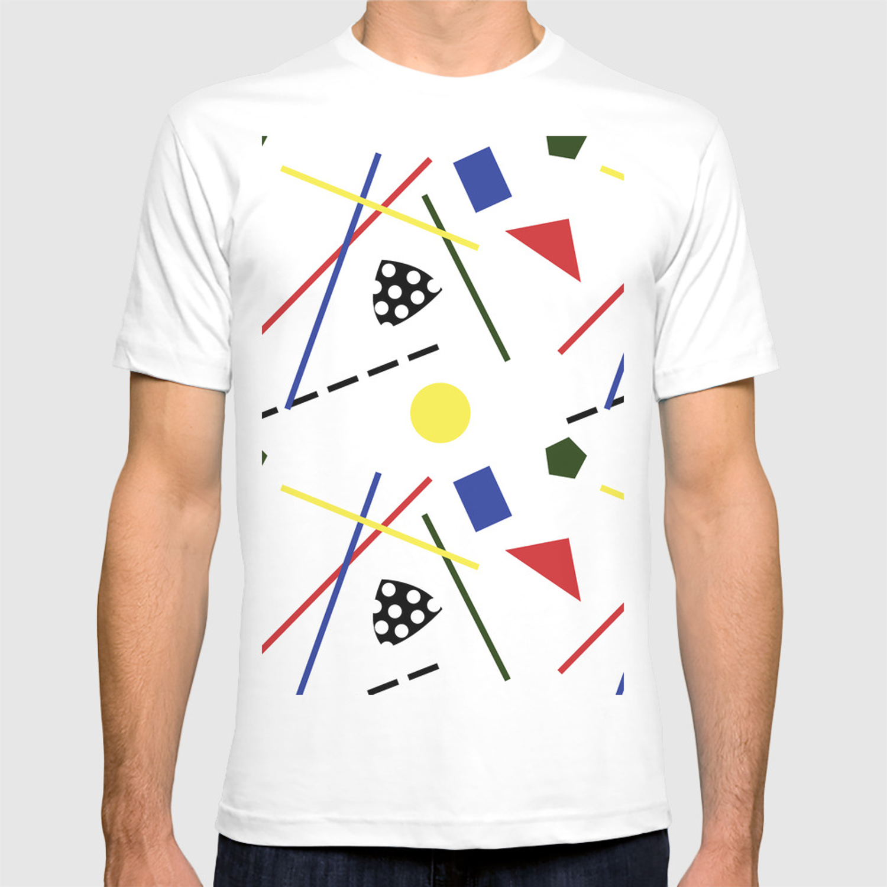 fe85c010 Postmodern Scavenger Hunt T-shirt by elliottdesignfactory | Society6