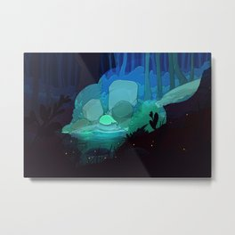 Weightless Metal Print