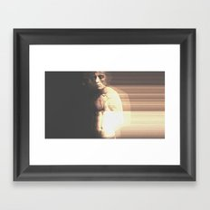 Series of a Human Symbol #05 Framed Art Print