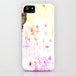 butterfly's breathe iPhone Case