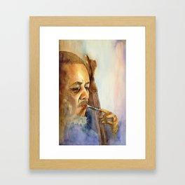 Musician Series I:  Charles Mingus Framed Art Print