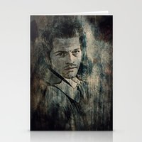 castiel Stationery Cards featuring Castiel by Sirenphotos