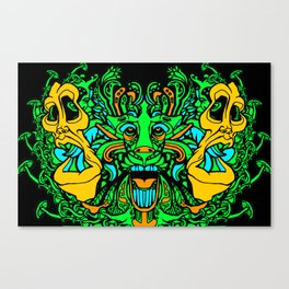 Face Your Chaos Canvas Print
