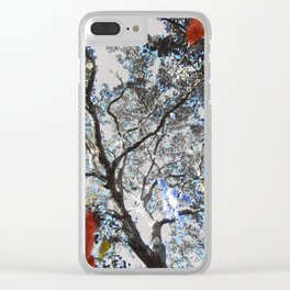 Colors in the Woods Clear iPhone Case