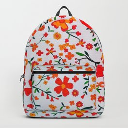 Paradise orange Backpack